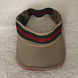 8d71b33857829 Gucci Accessories - Gucci GG Web Visor